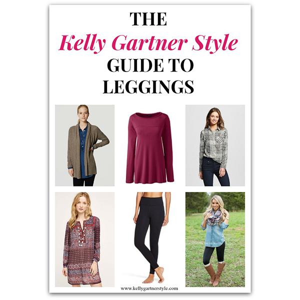 The Kelly Gartner Style Guide to Leggings
